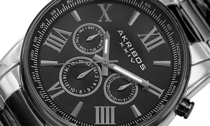 Groupon Goods Global GmbH: Montre Akribos XXIV pour homme