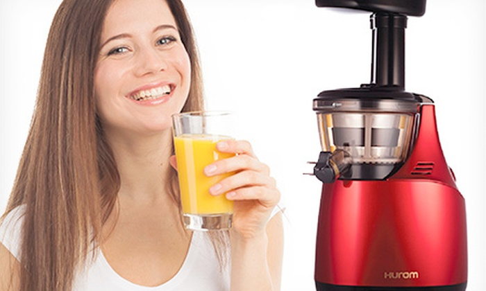 Hurom: $370 Hurom HC Smart Slow Juicer or $430 Hurom HU-500 Slow Juicer, Includes Nationwide Delivery (Up to SRP $549)