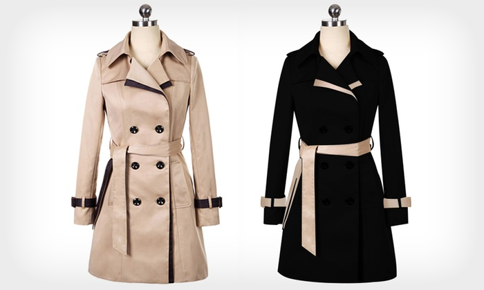 new products 9099b 8ee55 Trench donna | Groupon Goods