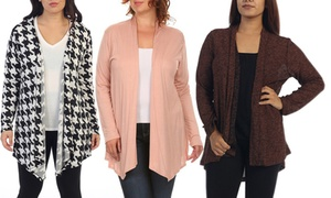 Women's Plus-Size Cardigan