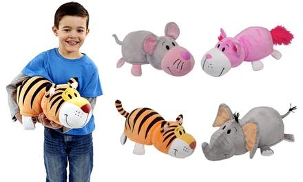 Flip A Zoo 2 In 1 Cuddle Pillow Pet Groupon Goods