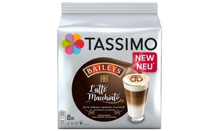 Six Packs of Tassimo Baileys Latte Macchiato