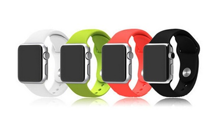 Correas de silicona para relojes Apple disponible en diferentes colores