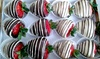 Delightful Fruit Flowers - Prospect Gardens: One Dozen Chocolate-Covered Strawberries at Delightful Fruit Flowers