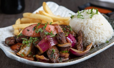 Food and Drink for Carryout or Dine-In (if Available) at El Gran Inka (Up to 30% Off). Two Options Available.