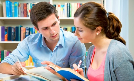 One Diagnostic Skills Assessment and Four Tutoring Sessions at Sylvan Learning (Up to 78% Off)