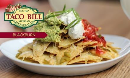 $12 or $25 to Spend on Mexican Food and Drinks at Taco Bill Blackburn