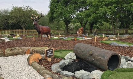Adventure Golf for Two or Four at Dinton Adventure Golf