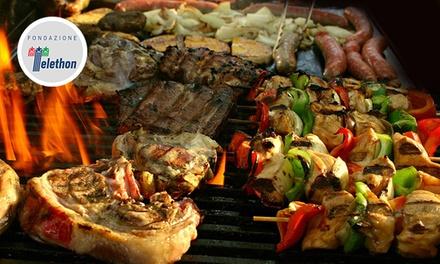 1 kg di grigliata mista di carne e vino