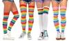 Leg Avenue Rainbow Socks