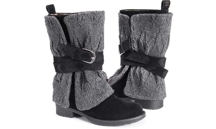 05760768afea Muk Luks Women s Nikita Boots (Size 8)