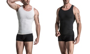 Men's Compression Shirt with Core Support