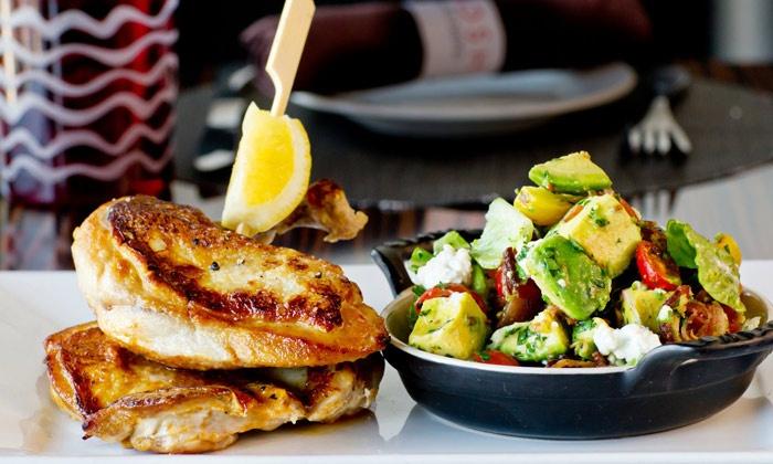 Nosh Euro Bistro - Highland Park: European Fusion Cuisine for Lunch or Dinnerat Nosh Euro Bistro (50% Off)