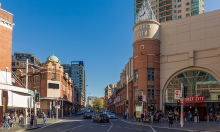 Sydney, CBD: One or Two-Night City Escape with Late Checkout at Aarons Hotel Haymarket