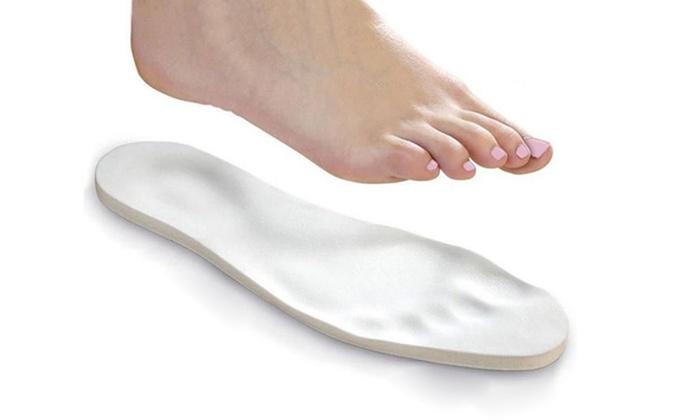 Einlagen aus Memory-Foam Schaumstoff für Gr.34-43 zuschneidbar Schuheinlagen