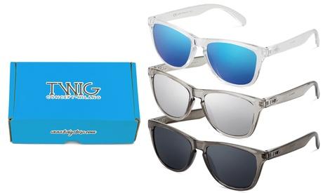 Pack de 3 gafas de sol Darwin de Twig concept Milano