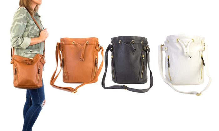 ab08ab43fda0 Up To 76% Off Multi-Compartment Shoulder Bag | Groupon