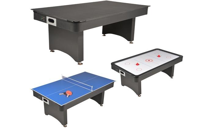 Jusqu A 58 Table Multi Jeux 3 En 1 Et 4 En 1 Groupon