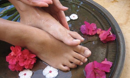 Jelly Spa Pedicure Packages with Massage, Facial, or Both at Iconic Nail & Spa (Up to 53% Off)