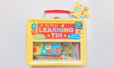 Kids' My First Learning Tin Set