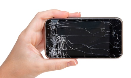 Screen Repair for a Samsung Phone or iPhone at JTI Wireless (Up to 54% Off)