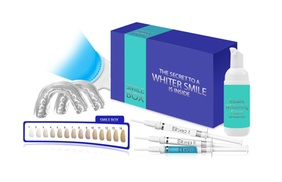 Advanced Teeth Whitening USA: $24.99 for Teeth-Whitening System & Lifetime Gel Refills with Free Shipping from Advanced Teeth Whitening USA ($199 Value)