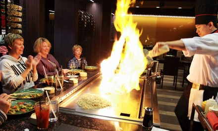 Japanese Hibachi Dinner Fujiyama Hibachi Amp Sushi Groupon