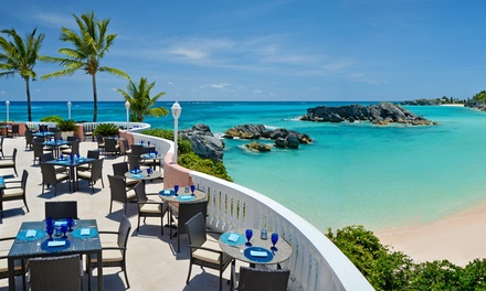 Stay at Fairmont Southampton in Bermuda, with Dates into August