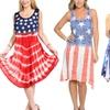 Women's American Flag-Inspired Dress. Multiple Styles Available.