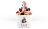Großes Frozen Yogurt mit 3 Toppings nach Wahl bei SNAP Natural Fast Food (bis zu 53% sparen*)