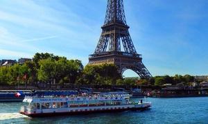 Vedettes du pont neuf: Croisière sur la Seine pour 2 adultes à 19,90 € avec Les Vedettes du Pont Neuf