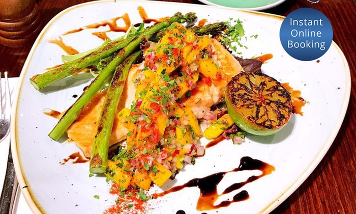 Caffe Dante - Sydney: Lunch with a Glass of Wine or Beer for One ($19), Two ($37), or Four People ($70) at Caffe Dante, CBD (Up to $130 Value)