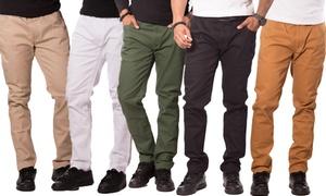 Men's Slim-Fit Bull Denim Jeans