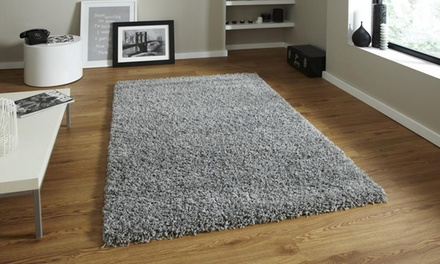 Soft Shaggy Rug in Choice of Size and Colour