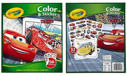 Libro Da Colorare Con Adesivi Cars 3 Offerte Recensioni