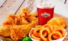 Texas Chicken and Burgers - West Bronx: $6 for Fried Chicken with One Side, Biscuit and Drink at Texas Chicken and ($10 Value)