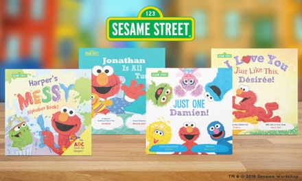 One, Two, or Three Personalized Sesame Street Kids Books from Put Me in the Story (55% Off)