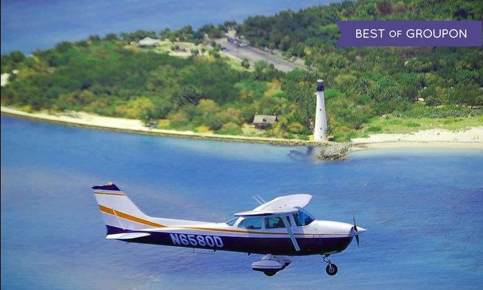 ATA Flight School - ATA Flight School: Scenic Discovery Flight with Instruction and Magazine Subscription from ATA Flight School (55% Off)