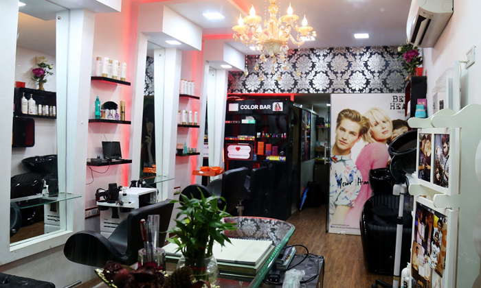 hair spa hair cut facial keratin and more at vikas
