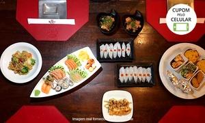Restaurante Kanpai Festival: Festival (com ou sem reposição) para 1, 2 ou 4 pessoas no Restaurante Kanpai Festival - Setor Oeste