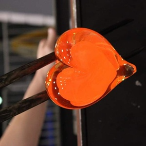 $75 for One Valentine's Day Glass-Sculpting Session for Two People at Hollywood Hot Glass ($150 Value)