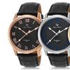 Lucien Piccard Olympus Men's Leather Strap Watch
