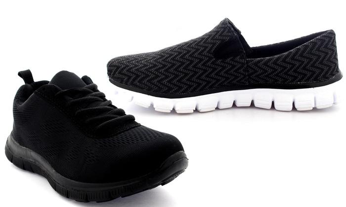 Sneakers con tacco ammortizzante