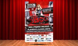 Gala Disco: 55 zł: Piękni i Młodzi, Defis, Playboys i więcej: bilet na Galę Disco w Hali RCS w Lubinie