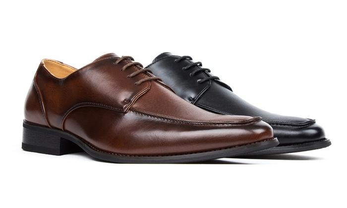Signature Men's Lace-Up Dress Shoes