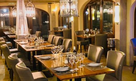 Menú mediterráneo para 2 con entrante, principal, postre y bebida en Ludo Restaurant (hasta 58% de descuento)