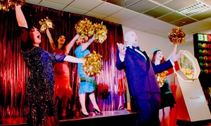 """Theater auf Tour - Dinnershows: Ticket für das Mafia-Musical """"Casino"""" inkl. Show und 4-Gänge-Menü von März bis Juni in 30 Städten (bis zu 37% sparen)"""