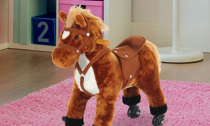 Groupon Goods: Kids' Wheely Horse (Shipping Included)