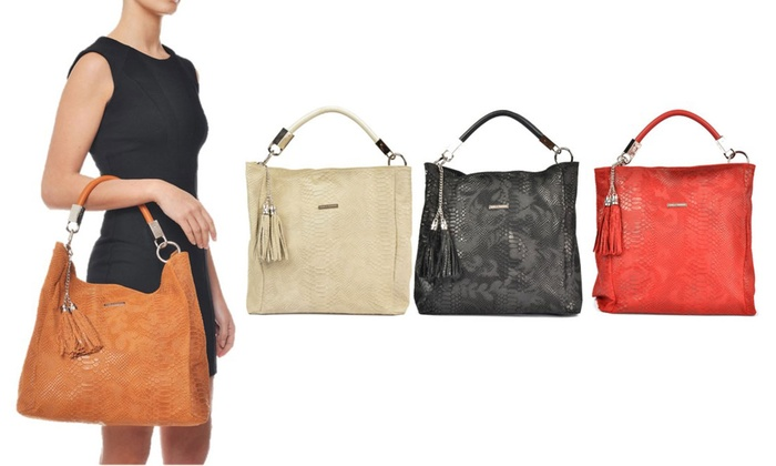 9e359004e Carla Ferreri Italian Leather Bag | Groupon Goods