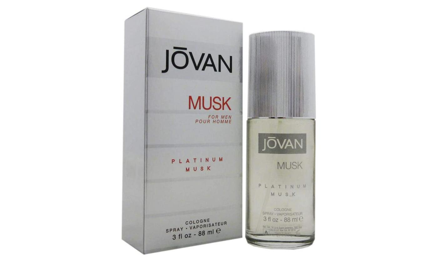 One or Two Jovan Platinum Musk 88ml Cologne Sprays